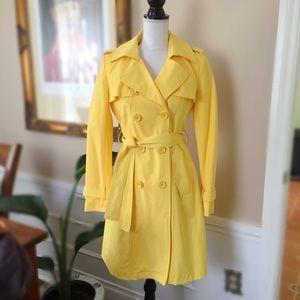 NY & CO Yellow Trench Coat